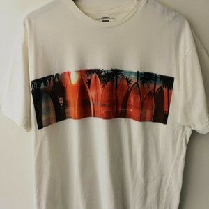 Quiksilver Waterman Collection Surf Graphic Tee L